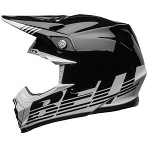 BELL MOTO HELMETS 2022 MOTO-9 MIPS LOUVER WHITE